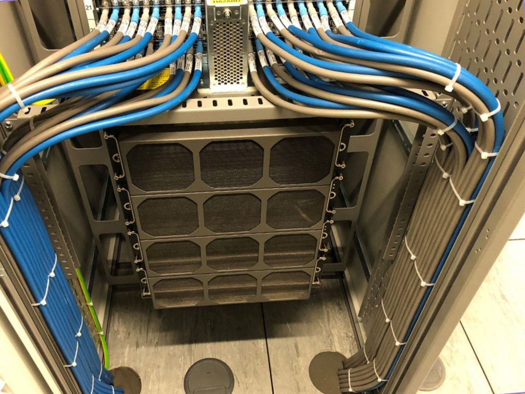 data centre equipment and cables