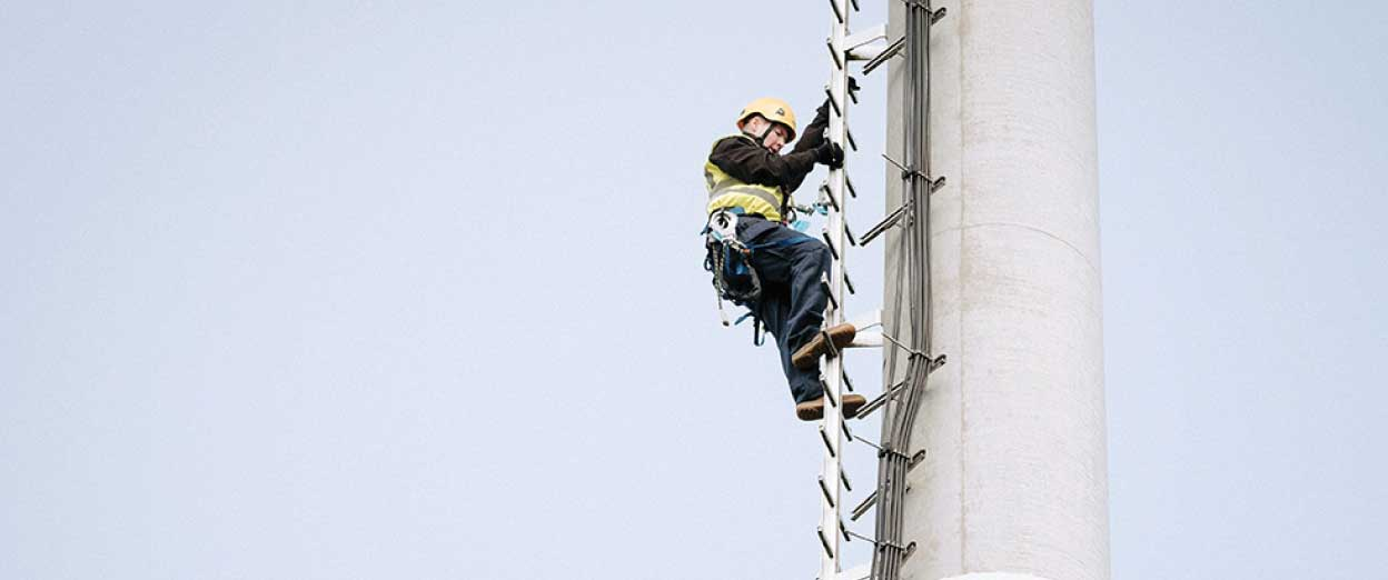 4site engineers tower climb