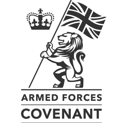 Indigo supports the Armed forces covenant logo