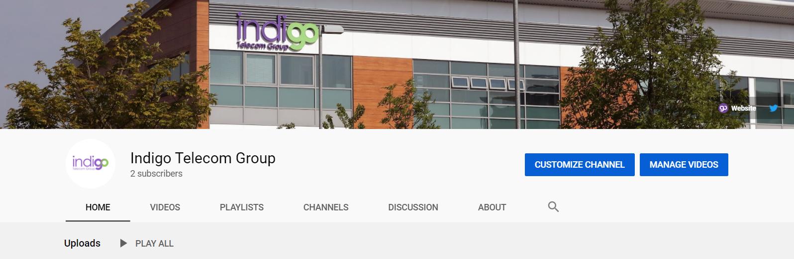 Indigo Telecom Group YouTube Channel