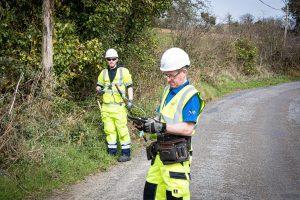 Indigo surveyors working on behalf of NBI