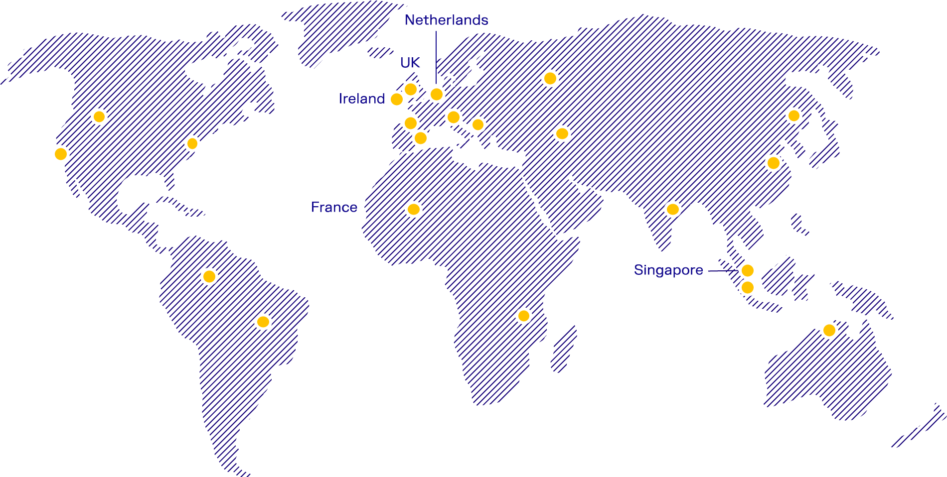 Indigo Locations Map